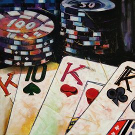The Art of Gambling: How to Hang Your Hobby on the Wall